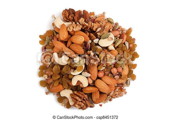 Mixed dry fruits - csp8451372