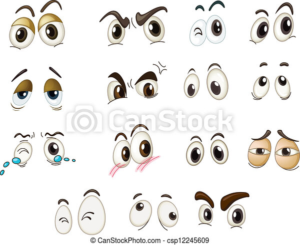 mixed expressions funny eyes on a white background monster eyes clipart cookie monster eyes clipart