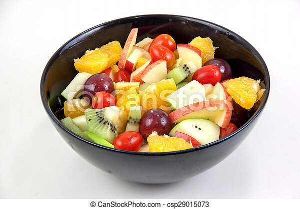 Mixed fruit salad thai style - csp29015073