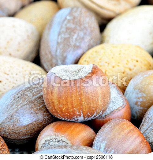 Mixed nuts - csp12506118