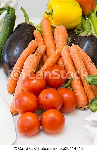 mixed Vegetables - csp20414714
