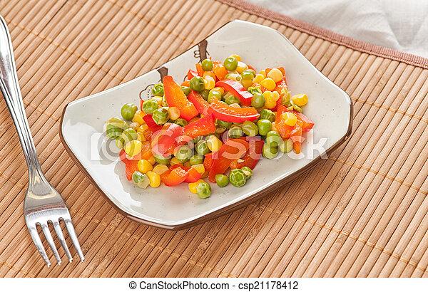 mixed vegetables - csp21178412