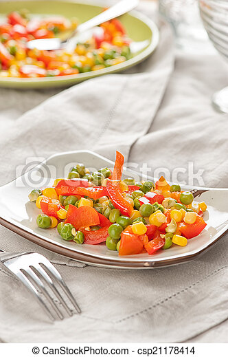 mixed vegetables - csp21178414