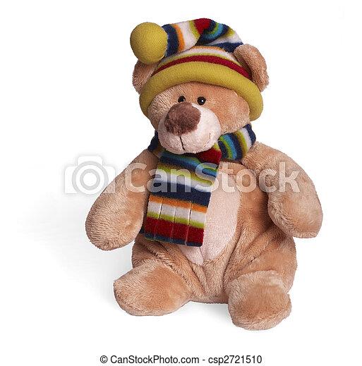 mjuk, björn, teddy - csp2721510