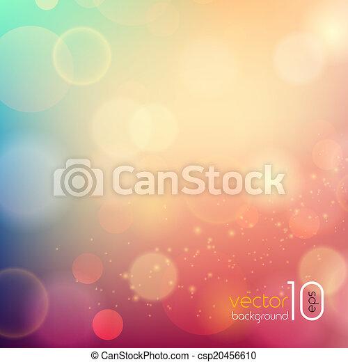 mjuk, sammandrag formge, färgad fond - csp20456610