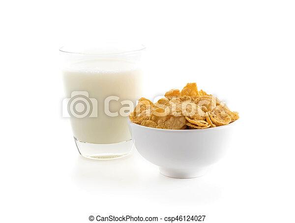 mleczny, zboże - csp46124027