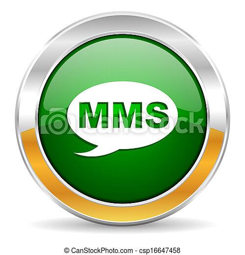 mms, icona - csp16647458