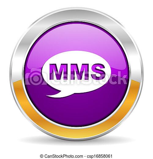 mms, icona - csp16858061