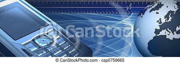 mobil, baner - csp0759665