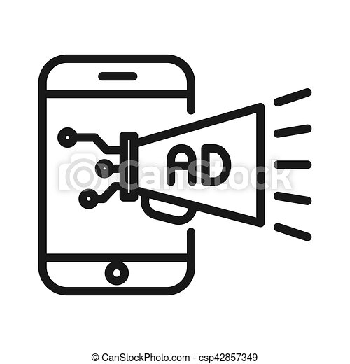 mobile advertising illustration design eps vector search clip art rh canstockphoto ca advertising clip art free advertising clip art cd