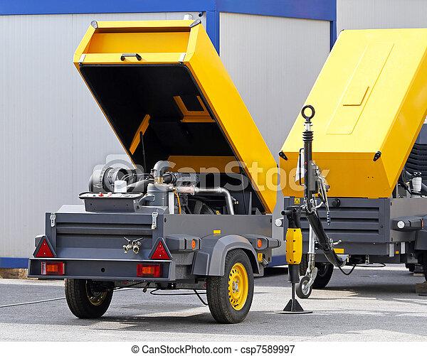 Mobile air compressor - csp7589997