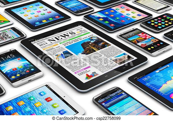 mobile, appareils - csp22758099