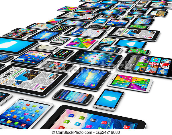 mobile, appareils - csp24219080