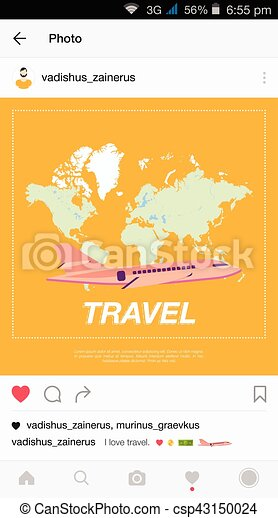 Mobile application and plane flying over the world map flat mobile application and plane flying over the world map vector gumiabroncs Gallery