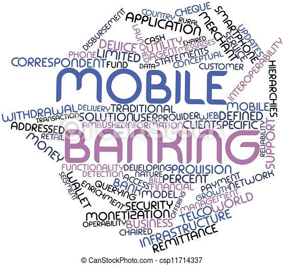 Mobile banking - csp11714337