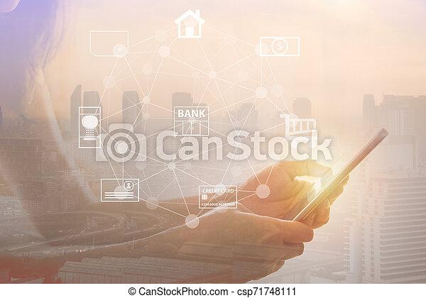 mobile banking - csp71748111