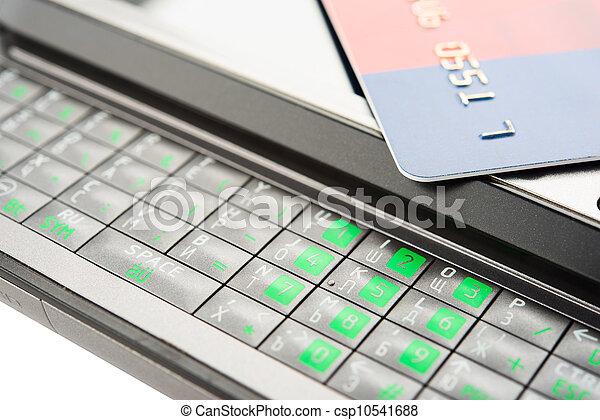 Mobile banking - csp10541688