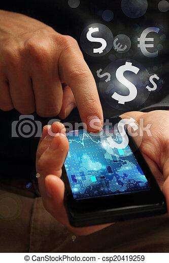 mobile banking - csp20419259