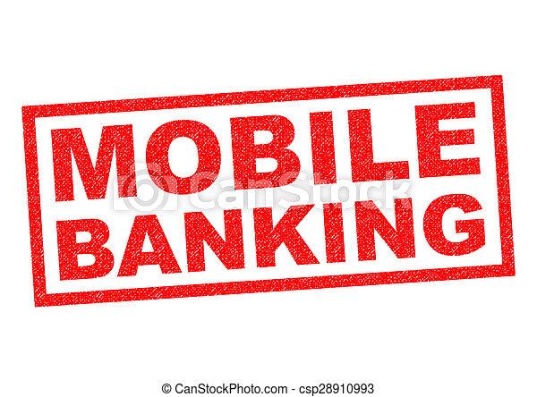 MOBILE BANKING - csp28910993