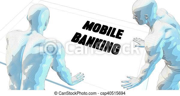 Mobile Banking - csp40515694
