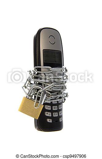 mobile, capturé - csp9497906
