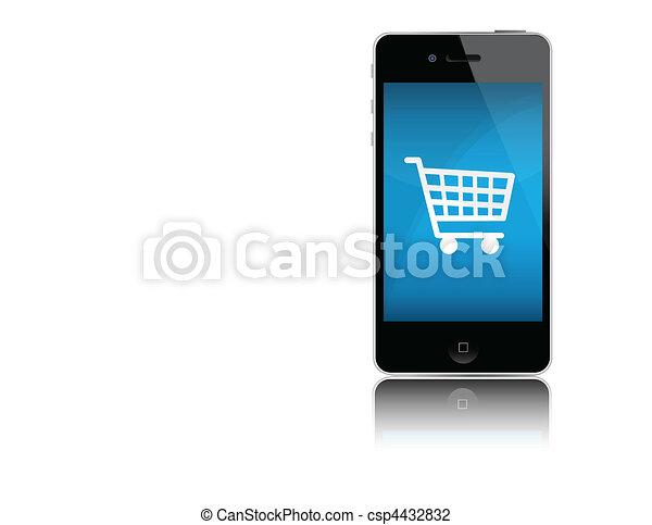 mobile, charrette - csp4432832