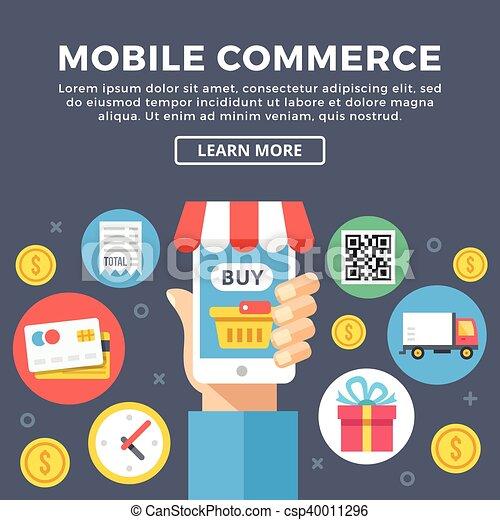 Mobile commerce e commerce mobile commerce smartphone e commerce mobile commerce e commerce csp40011296 altavistaventures Images