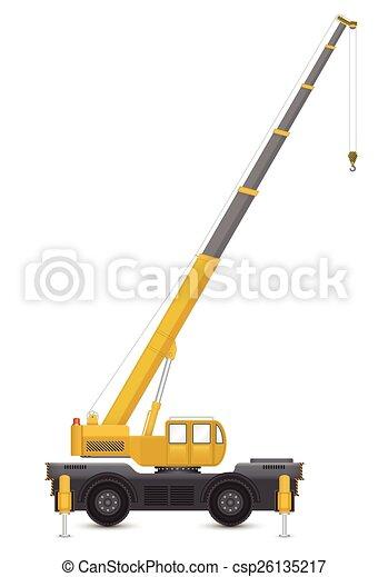 Mobile crane - csp26135217