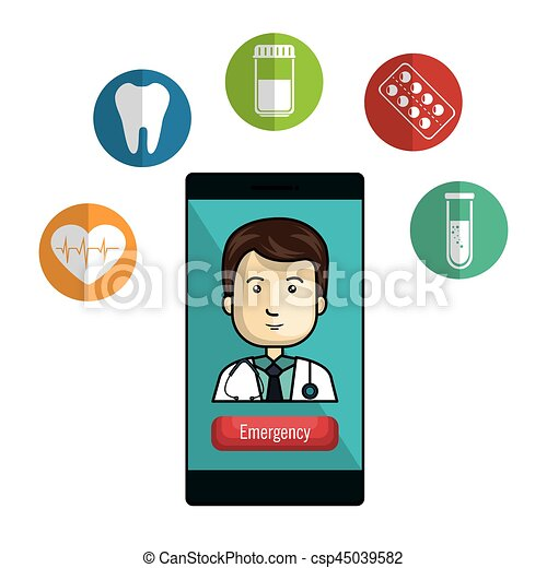 mobile health technology icons vector illustration design vector rh canstockphoto com Document Icon Clip Art clipart technology icons