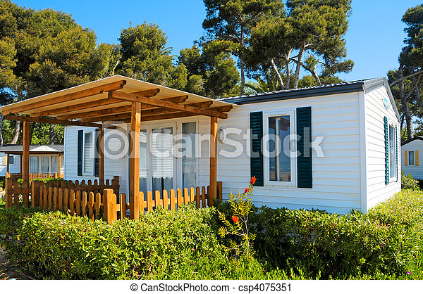 mobile home - csp4075351