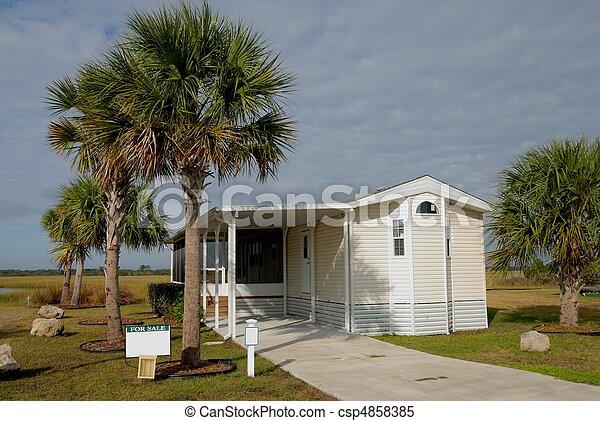 mobile home - csp4858385