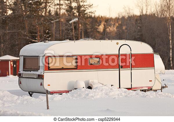Mobile Home - csp5229344