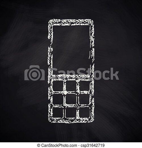 mobile, icône - csp31642719