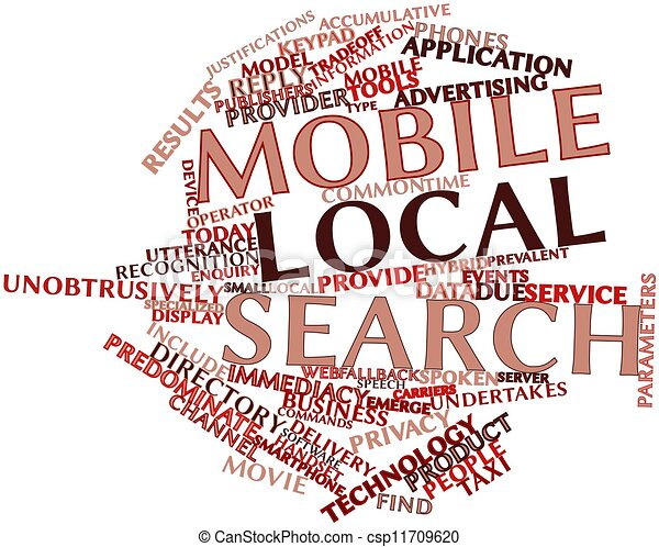Mobile local search - csp11709620