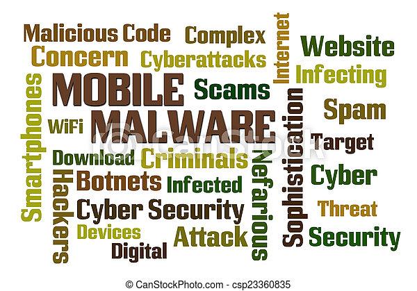 Mobile Malware - csp23360835