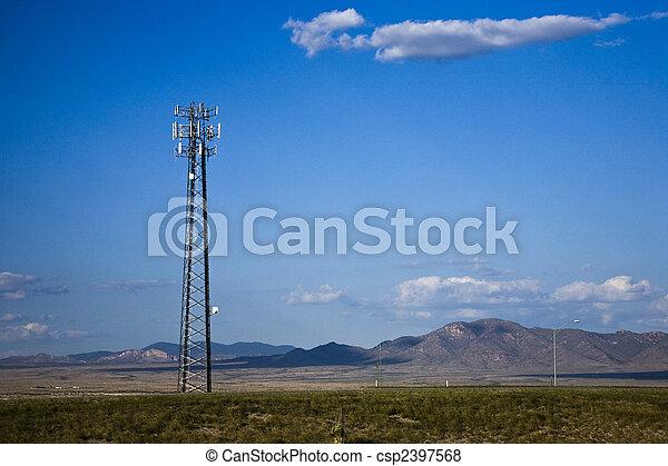 Mobile phone base station - csp2397568