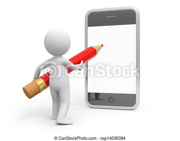 Mobile phone - csp14036394