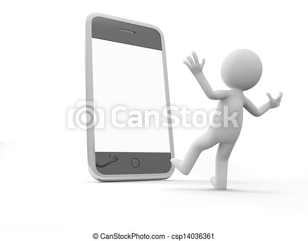 Mobile phone - csp14036361