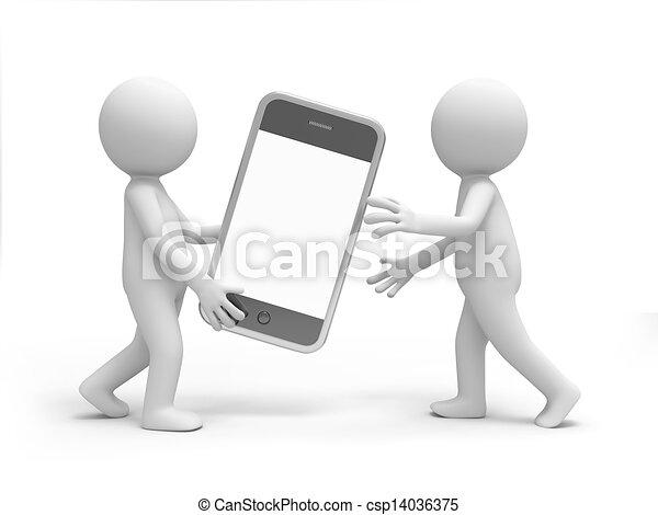 Mobile phone - csp14036375