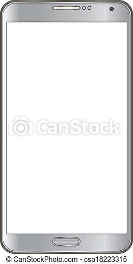 Mobile phone - csp18223315