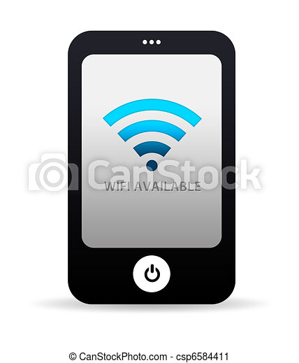Mobile Phone Wifi Available - csp6584411