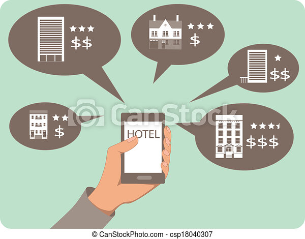 Mobile search for hotels - csp18040307