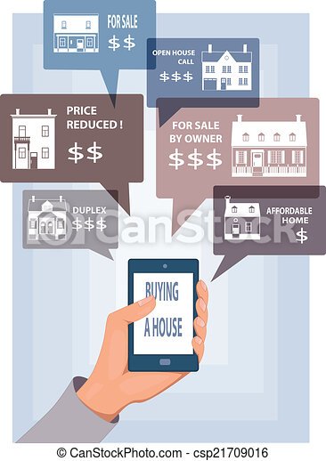 Mobile search for real estate - csp21709016