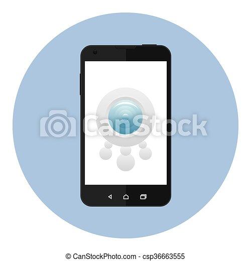 Mobile Security Camera - csp36663555