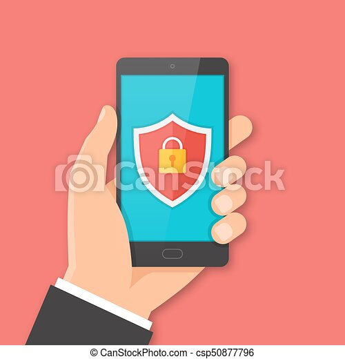 Mobile security concept - csp50877796