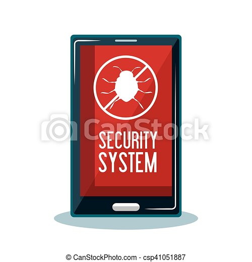 mobile security system protection - csp41051887
