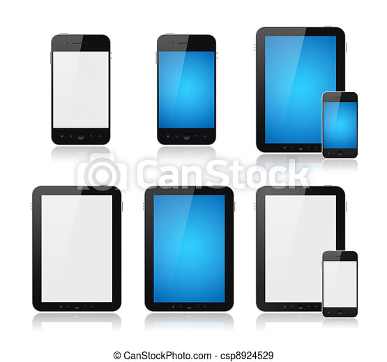 Mobile Smart Phone With Tablet PC Set - csp8924529