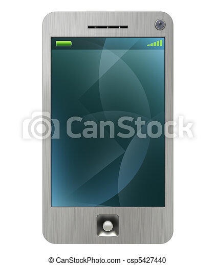 mobile, stylus, 3g, pda, téléphone - csp5427440