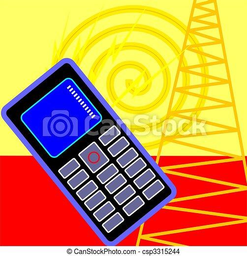 mobilephone - csp3315244