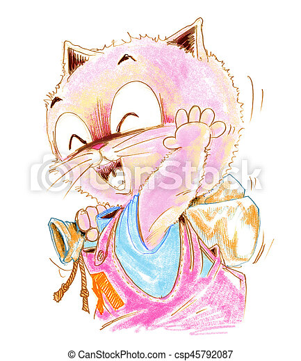 Diseno De Dibujos Animados Para Gatos Dibujo De Dibujos Animados